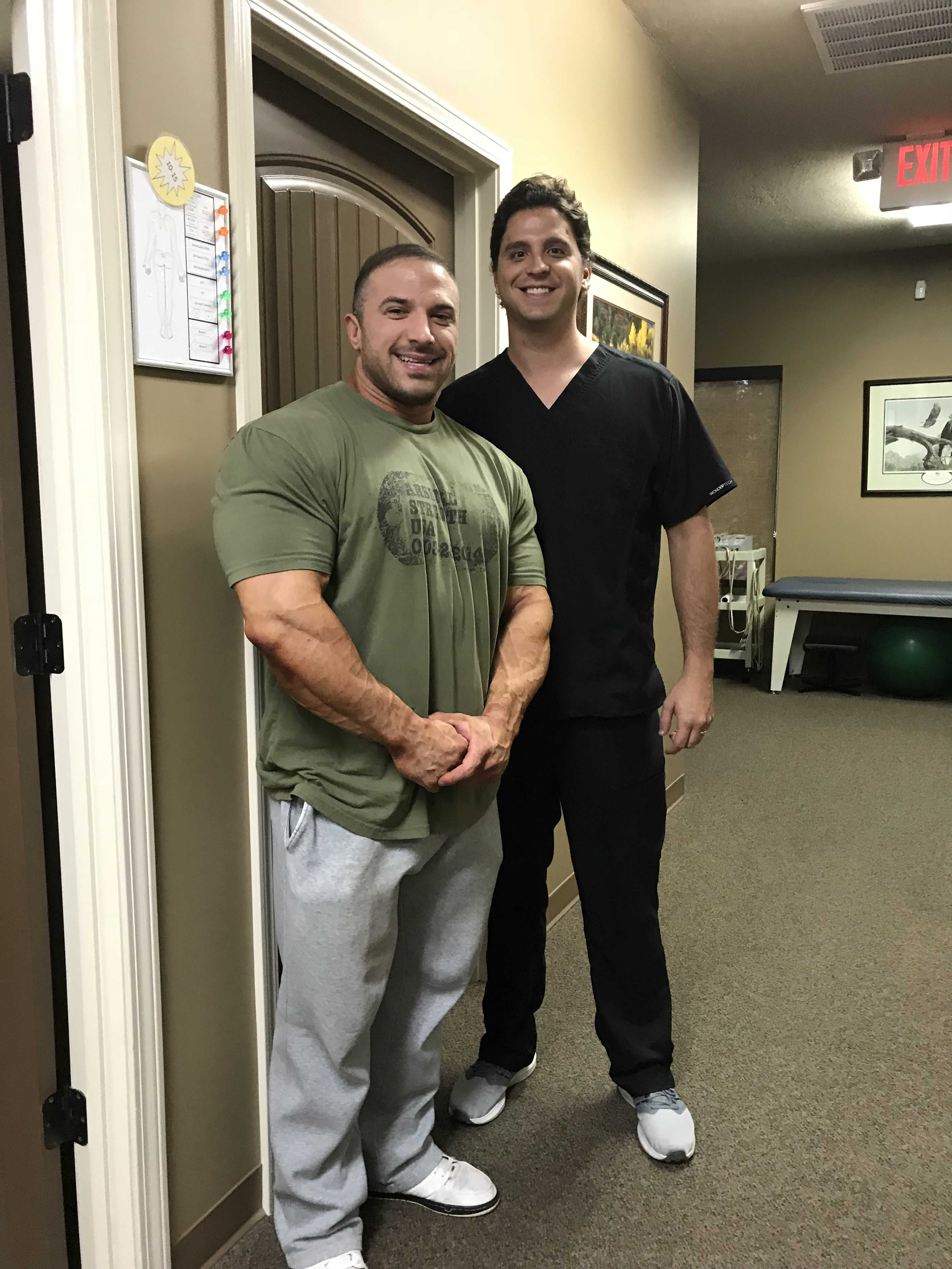 Dr. Jake and Turner Riddle